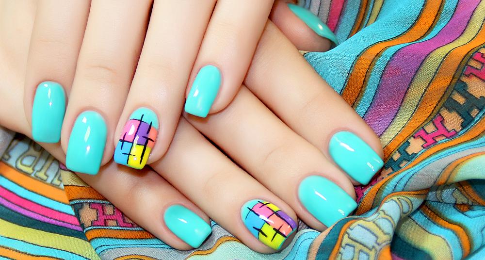 модный дизайн гель лаков на короткие ногти