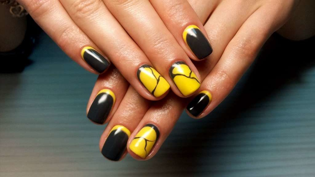 идеи рисунков на короткие ногти