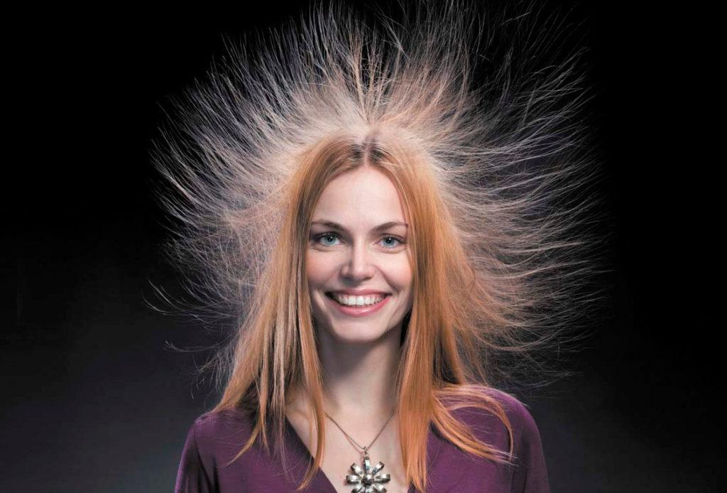 причины намагничивания волос